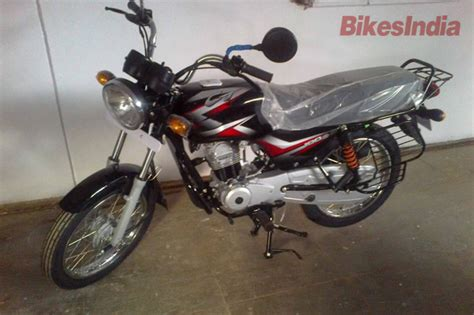 Bajaj Ct100 Modified Bike Images by New Bajaj Ct100 B Spotted At Dealership Ahead Of Launch