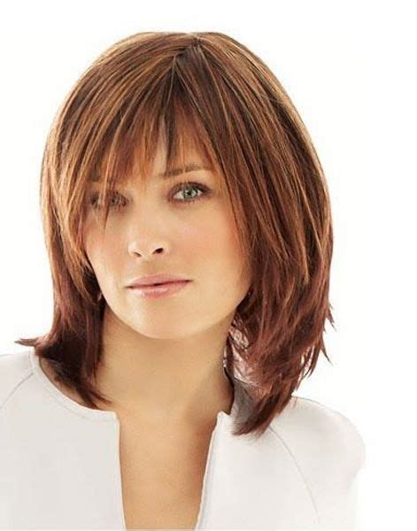 cute mid length hairstyles for women over 40 hair