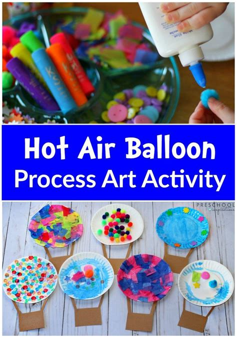air balloon process activity all things 303 | be4a6677d4cf8420bd3aadfc763d6dcc childrens art activities activities for small children
