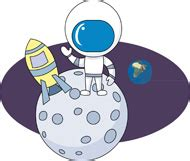 astronaut on moon clipart astronomers overview