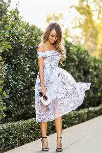 100 stylish wedding guest dresses that are sure to impress With off the shoulder wedding guest dresses