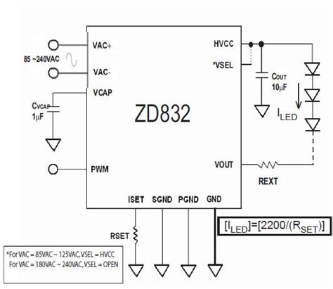 Led Power Supply Without Transformer Circuit Diagram