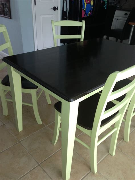 butcher block table 4 chairs fresh vintage nc