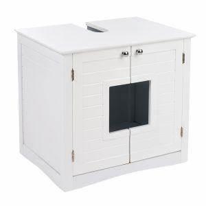 Maison De Toilette Pour Chat Meuble Sous Lavabo