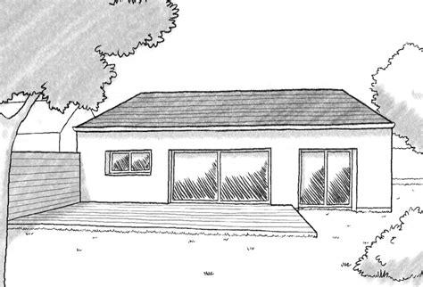 plan maison 1 chambre plan maison de plain pied avec 1 chambre ooreka