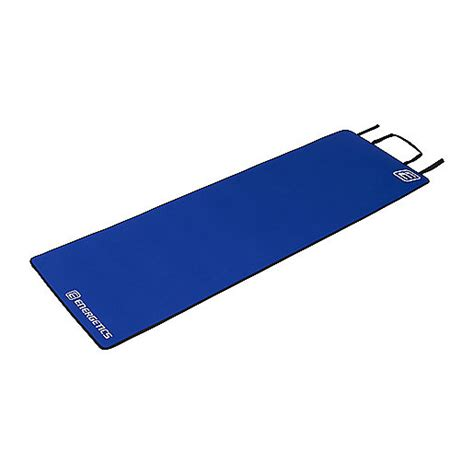 tapis de fitness mat bleu energetics intersport