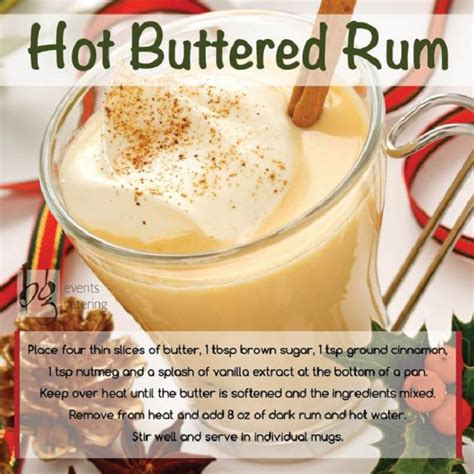 Winter Cocktails and Warm Drink Recipes ? BG Events and Catering