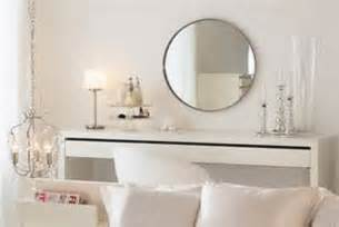 ikea malm dressing table with drawer modern white vanity make up table desk ebay