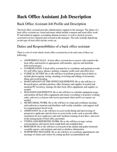 human resources assistant resume 12 sle job description