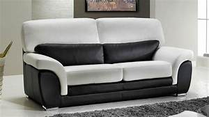 charmant canape clic clac convertible 12 canap233 3 With canape blanc pas cher 3 places