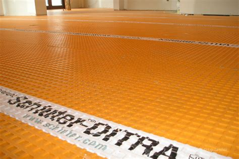 how to install schluter ditra tile underlayment one 28