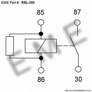 Relay   Hazard    Horn 12v  30a With Resistor