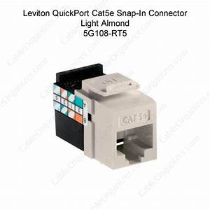 Leviton Quickport Cat 5e Gigamax Snap