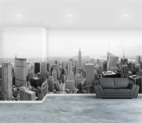 new york city self adhesive wallpaper mural by oakdene designs notonthehighstreet