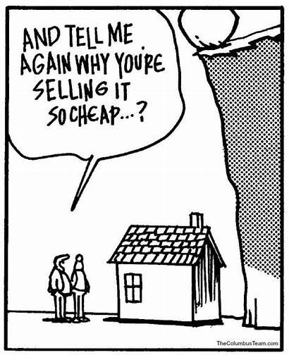 Estate Cartoon Agent Humor Market Cartoons Funnies