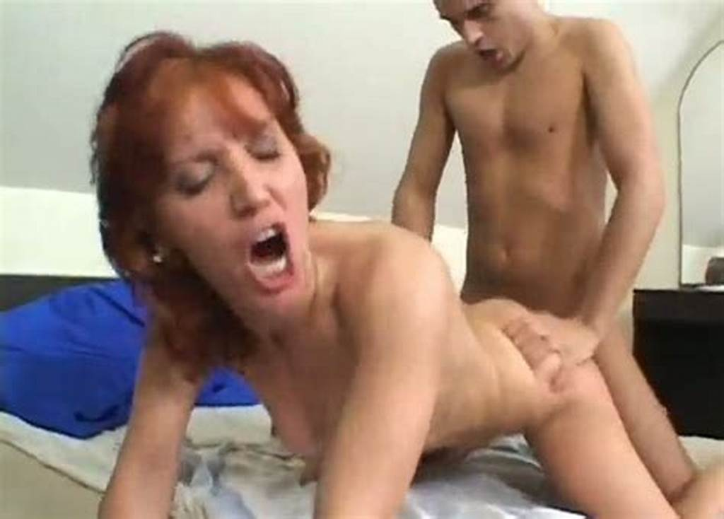 #Mature #Red #Haired #Whore #Gets #Her #Hairy #Pussy #Fucked