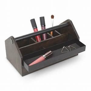 Caisse A Outils Bois : boite rangement maquillage en bois caisse a outils umbra toto box 290240 048 ~ Melissatoandfro.com Idées de Décoration