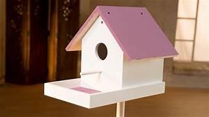 Vogelhaus Bauen Mit Kindern Anleitung : project tutorial vogelhaus selber bauen youtube ~ Watch28wear.com Haus und Dekorationen