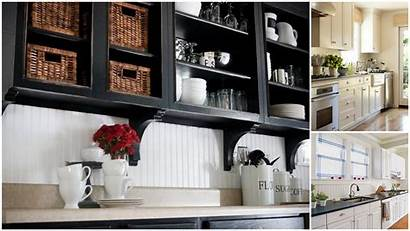 Kitchen Backsplash Looks Country Beadboard Tile Vinyl
