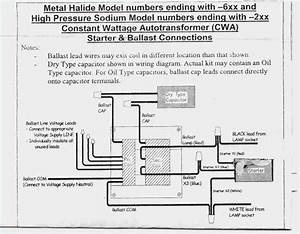 Metal Halide Ballast Wiring Diagram Gallery
