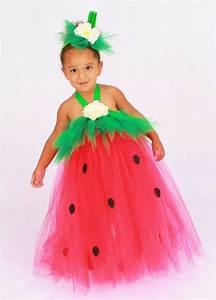 Tutu Dress - Strawberry Birthday or Halloween Costume - Red u0026 Green - Berry Beauty   Tutu ...