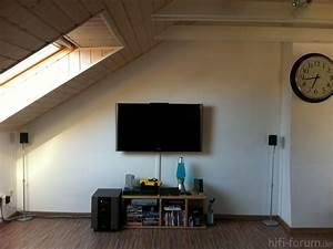 Fernseher An Der Wand : fernseher an wand befestigen m bel design idee f r sie ~ Frokenaadalensverden.com Haus und Dekorationen