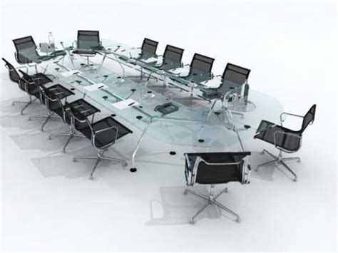 modern conference table set for a modern house designs