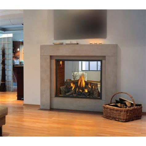 napoleon hd direct vent natural gas   fireplace