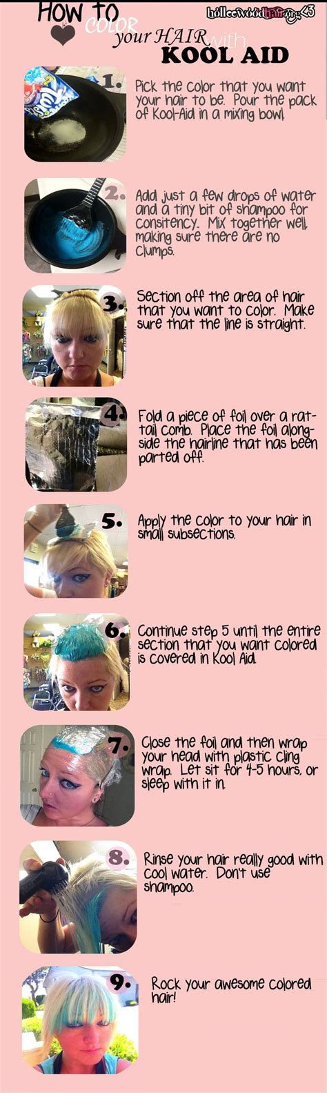 72 Best Images About Kool Aid Hair Dye On Pinterest Dip