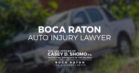 Boca Raton Auto Injury Lawyer