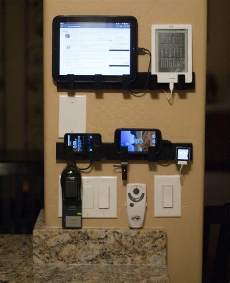 wall mounted device charging station     cent ikea towel racks pics diy
