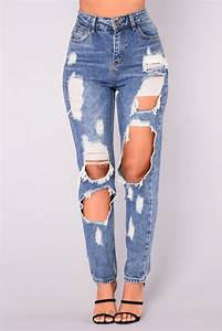 Janel Boyfriend Jeans - Medium Wash