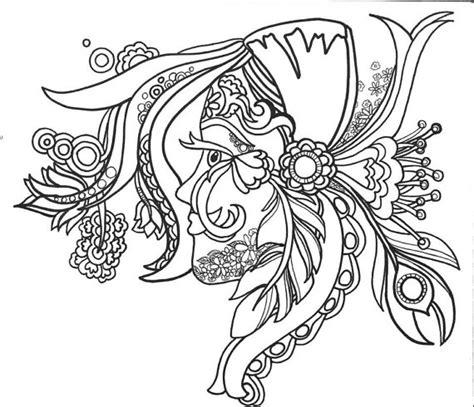 coloringpages funfancyfunkyfaces vol original art