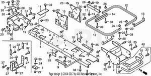 Honda H2013hk1 Sac Lawn Tractor  Usa  Vin  Mzbf