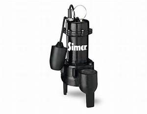 Pentair Water 3263 1  2hp Submersible Cast Iron Sewage Pump
