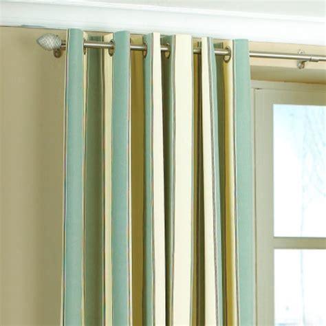 gatsby stripe panama eyelet lined curtains ebay
