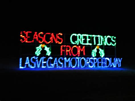 in vegas lights at las vegas speedway