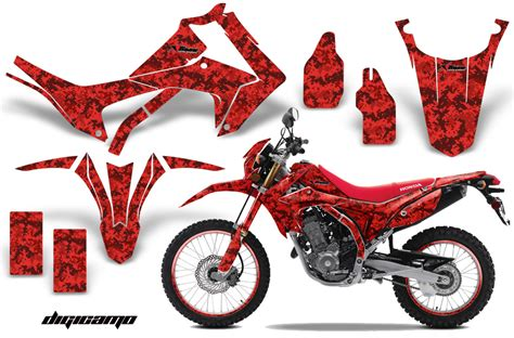 graphics for motocross bikes honda crf250l enduro graphic stickers and decals honda