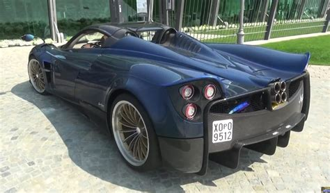 pagani back pagani huayra roadster spotted for the first time in person
