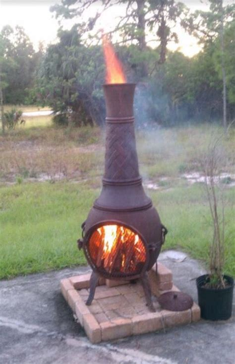 Large Cast Iron Chiminea Sale - large cast iron chiminea 5 for sale in fort myers