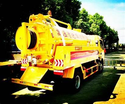 Sewage Cleanout Truck Tanker Sucking Dongfeng 12cbm