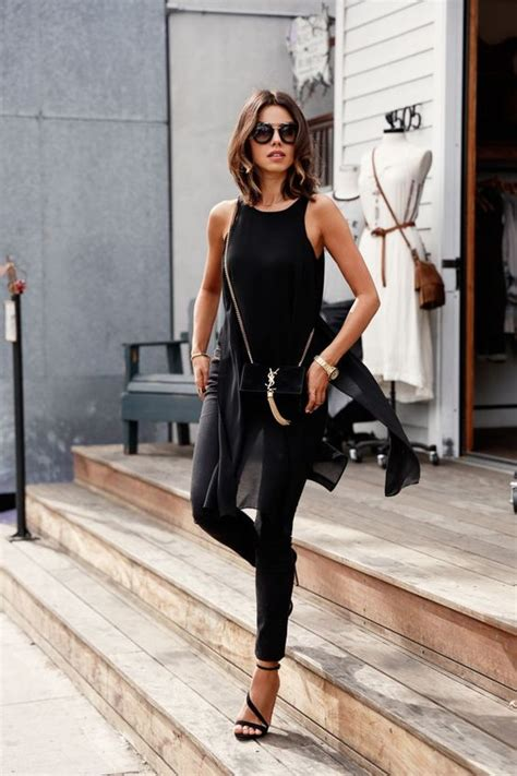 Timeless All Black Summer Outfits For Girls Styleoholic