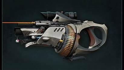 Weapons Sci Fi Guns Futuristic Fiction Weapon