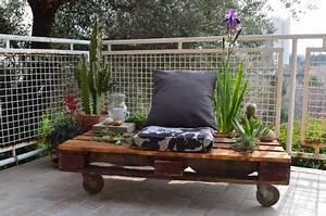 Mini Salon De Jardin : ma mini terrasse jardin sur palette lejardindeclaire ~ Teatrodelosmanantiales.com Idées de Décoration