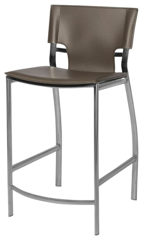 venice stool gray counter height 24 quot contemporary