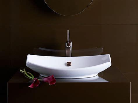 wall mount bathroom sink faucet installation k 2530 leaf vessels sink kohler