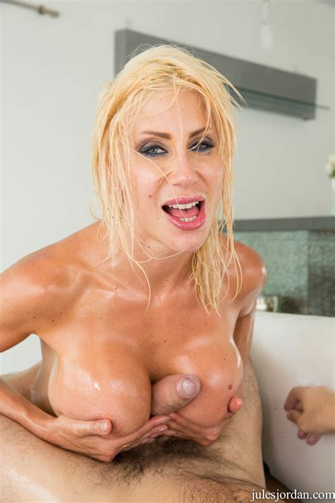 Puma Swede covered with oil gets fucked anally by Manuel Ferrara - My Pornstar Book