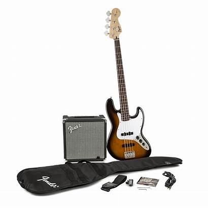 Bass Fender Beginner Squier Pack Guitar Jazz