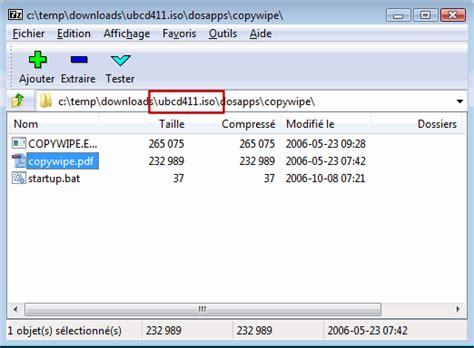 monter un fichier iso lecteur virtuel de fichier iso