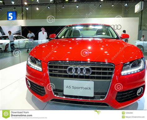 Audi Sportsback Car Editorial Stock Image  Image 12355399